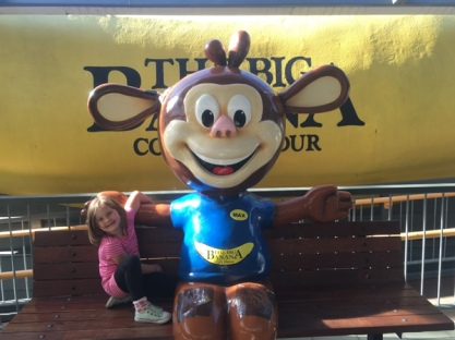 A buddy at the Big Banana